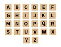 Διανυσματικά κεραμίδια παιχνιδιών λέξης μπερδεύοντας Στοκ Εικόνες
