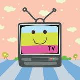 Διανυσματικά κινούμενα σχέδια TV Διανυσματική απεικόνιση