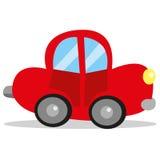 Διανυσματικά κινούμενα σχέδια αυτοκινήτων Στοκ Εικόνες