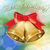 Διανυσματικά κουδούνια Χριστουγέννων ελεύθερη απεικόνιση δικαιώματος