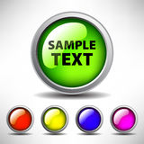 Διανυσματικά κουμπιά Διαδικτύου ελεύθερη απεικόνιση δικαιώματος