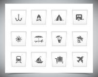 Διανυσματικά κουμπιά διακοπών Στοκ φωτογραφία με δικαίωμα ελεύθερης χρήσης