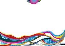 διανυσματικά κύματα εικόν ελεύθερη απεικόνιση δικαιώματος