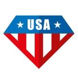Διανυσματικά λογότυπα των Ηνωμένων Πολιτειών της Αμερικής Στοκ Φωτογραφία