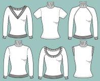 Θερμά πουλόβερ για τις γυναίκες Στοκ Εικόνες