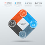 Διανυσματικά στοιχεία για infographic Στοκ Εικόνες