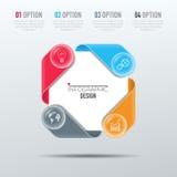 Διανυσματικά στοιχεία για infographic Στοκ φωτογραφία με δικαίωμα ελεύθερης χρήσης