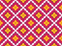 Διανυσματικά σύγχρονα άνευ ραφής ζωηρόχρωμα διαμάντια σχεδίων γεωμετρίας Στοκ φωτογραφίες με δικαίωμα ελεύθερης χρήσης