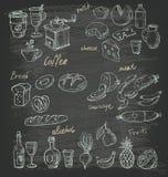 Διανυσματικά τρόφιμα Στοκ Εικόνα