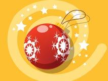 Διανυσματικά Χριστούγεννα εικονιδίων σφαιρών Στοκ εικόνα με δικαίωμα ελεύθερης χρήσης