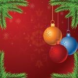 Διανυσματικά Χριστούγεννα Στοκ Εικόνα