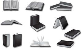 Διανυσματικές απεικονίσεις βιβλίων Στοκ φωτογραφία με δικαίωμα ελεύθερης χρήσης