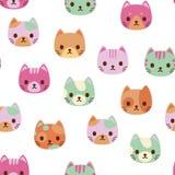 Διανυσματικές γάτες Στοκ Εικόνες
