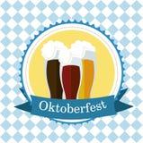 Διανυσματικές εικόνες για Octoberfest Στοκ Εικόνες