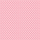 Διανυσματικές καρδιές doodle leatle Άνευ ραφής σχέδιο για το τύλιγμα δώρων, τα συγχαρητήρια, τις γαμήλιες προσκλήσεις και την ημέ Στοκ εικόνα με δικαίωμα ελεύθερης χρήσης