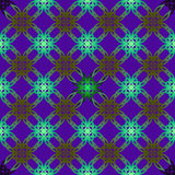 Διανυσματική άνευ ραφής απεικόνιση με το γεωμετρικό στοιχείο πολυ-collor Στοκ Φωτογραφίες