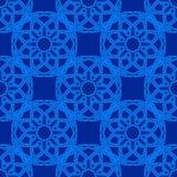 Διανυσματική άνευ ραφής απεικόνιση με το γεωμετρικό στοιχείο Στοκ φωτογραφία με δικαίωμα ελεύθερης χρήσης