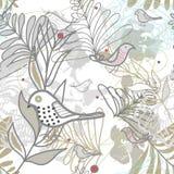 Διανυσματική άνευ ραφής floral σύσταση διανυσματική απεικόνιση