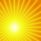 Διανυσματική ανασκόπηση υπό μορφή ήλιου Στοκ φωτογραφία με δικαίωμα ελεύθερης χρήσης