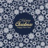 Διανυσματική ανασκόπηση Χριστουγέννων Στοκ εικόνα με δικαίωμα ελεύθερης χρήσης
