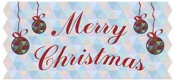 Διανυσματική ανασκόπηση Χριστουγέννων Στοκ Φωτογραφίες