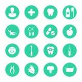 Διανυσματική απεικόνιση για την οδοντιατρική και Orthodontics διανυσματική απεικόνιση