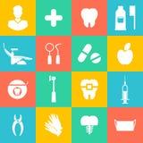 Διανυσματική απεικόνιση για την οδοντιατρική και Orthodontics ελεύθερη απεικόνιση δικαιώματος