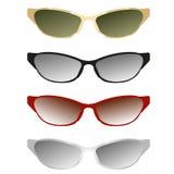 Διανυσματική απεικόνιση γυαλιών ηλίου Στοκ Εικόνα