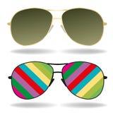 Διανυσματική απεικόνιση γυαλιών ηλίου Στοκ εικόνες με δικαίωμα ελεύθερης χρήσης