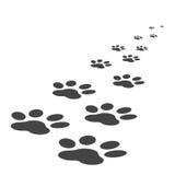 Διανυσματική απεικόνιση εικονιδίων τυπωμένων υλών ποδιών που απομονώνεται στο άσπρο υπόβαθρο Στοκ Φωτογραφία