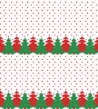 Διανυσματική απεικόνιση εικονοκυττάρου σχεδίων Χριστουγέννων του νέου έτους στοκ φωτογραφία