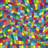 Διανυσματική απεικόνιση ενός άνευ ραφής σχεδίου επανάληψης του χρωματισμένου s Στοκ Εικόνες