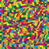 Διανυσματική απεικόνιση ενός άνευ ραφής σχεδίου επανάληψης χρωματισμένος Στοκ φωτογραφίες με δικαίωμα ελεύθερης χρήσης
