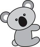 Διανυσματική απεικόνιση ενός koala Στοκ Φωτογραφία
