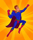 Διανυσματική απεικόνιση ενός superhero Στοκ φωτογραφία με δικαίωμα ελεύθερης χρήσης
