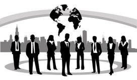 Διανυσματική απεικόνιση επιχειρηματιών Στοκ Εικόνες