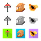 Διανυσματική απεικόνιση και λογότυπο ταξιδιού Σύνολο και παραδοσιακή διανυσματική απεικόνιση αποθεμάτων ελεύθερη απεικόνιση δικαιώματος