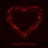 Διανυσματική απεικόνιση καρδιών Στοκ Εικόνες