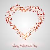 Διανυσματική απεικόνιση καρδιών Στοκ εικόνα με δικαίωμα ελεύθερης χρήσης