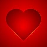 Διανυσματική απεικόνιση καρδιών Στοκ Φωτογραφία