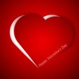 Διανυσματική απεικόνιση καρδιών Στοκ φωτογραφία με δικαίωμα ελεύθερης χρήσης