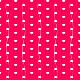 Διανυσματική απεικόνιση καρδιών Στοκ Φωτογραφίες