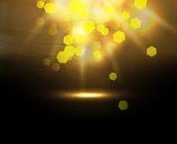 Διανυσματική απεικόνιση με το φωτισμό Στοκ Φωτογραφία