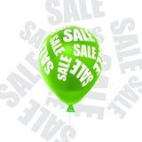 Διανυσματική απεικόνιση μιας πώλησης μπαλονιών Στοκ φωτογραφίες με δικαίωμα ελεύθερης χρήσης