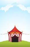Σκηνή τσίρκων Στοκ Φωτογραφία