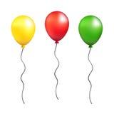 Διανυσματική απεικόνιση μπαλονιών Στοκ εικόνα με δικαίωμα ελεύθερης χρήσης