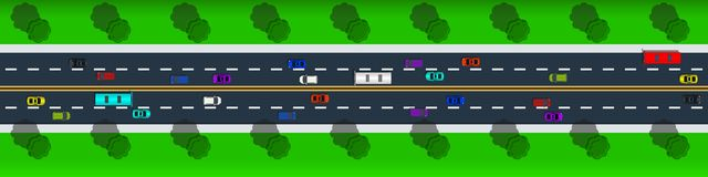 Διανυσματική απεικόνιση οδικής τοπ άποψης επαρχίας ελεύθερη απεικόνιση δικαιώματος