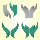 Διανυσματική απεικόνιση προτύπων λογότυπων ασφάλειας Στοκ εικόνα με δικαίωμα ελεύθερης χρήσης