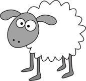 Διανυσματικά πρόβατα Στοκ φωτογραφία με δικαίωμα ελεύθερης χρήσης