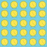 Διανυσματική απεικόνιση ρολογιών Στοκ φωτογραφία με δικαίωμα ελεύθερης χρήσης